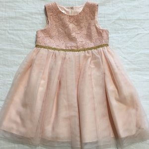 da06cbf689b35 SALE🎉 Mia & Mimi - Pink & Gold Sleeveless Dress